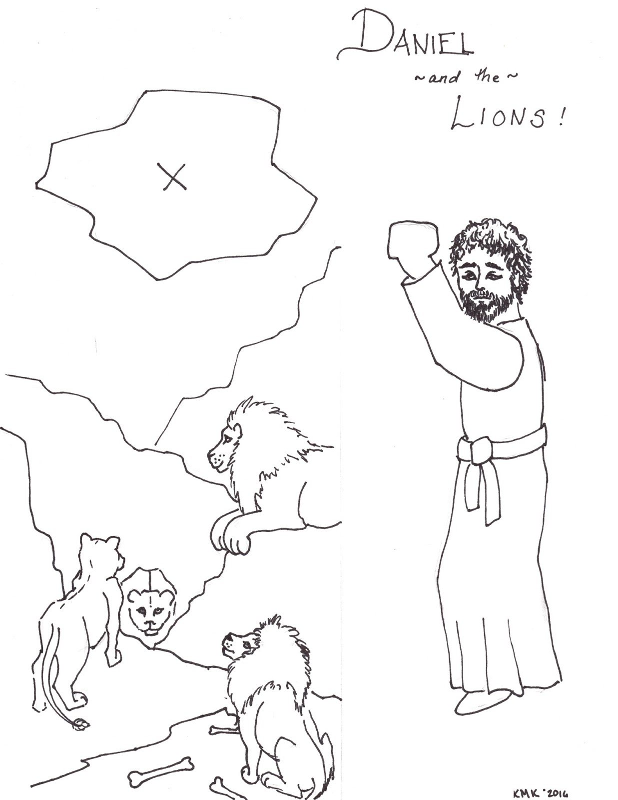 Grow Wild My Child: Free Printable of Daniel for Sunday School