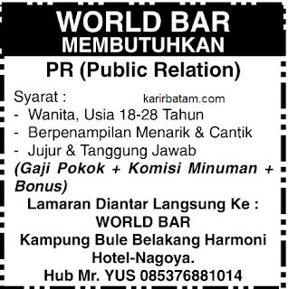 Lowongan Kerja World Bar Nagoya