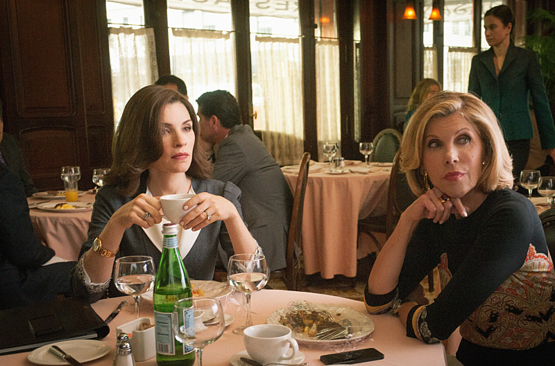 The Good Wife S06E01. The Line