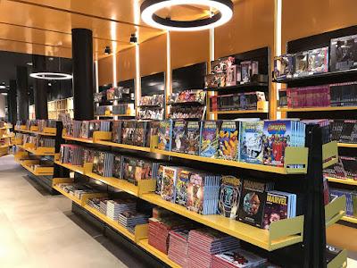 Norma Comics Barcelona amplía su espacio comercial con nuevas secciones. @normaeditorial