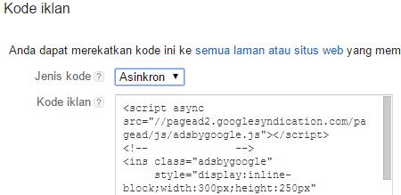 Percepat Loading Blog dengan Script Asinkron Adsense