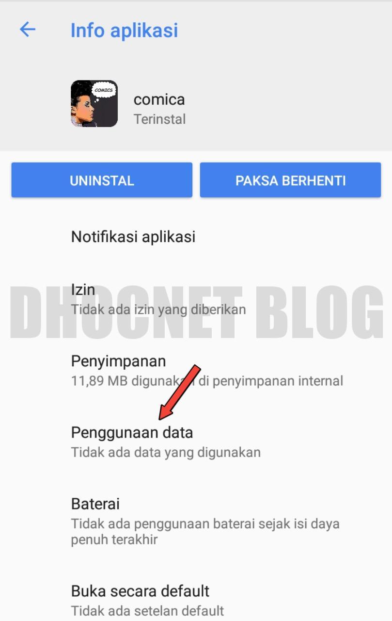 membatasi akses internet aplikasi pada android 8 oreo - blog.dhocnet.work