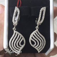 Jual Anting Emas Putih Berlian