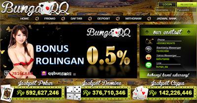 BUNGAQQ.NET BandarQ ADUQ DOMINOQQ ONLINE TERPERCAYA