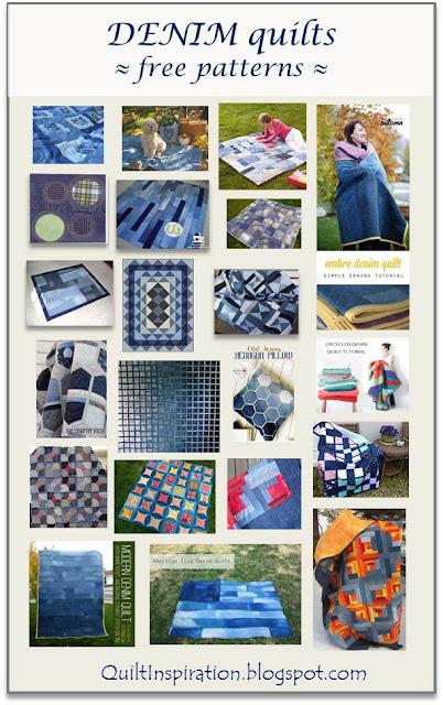 Quilt Inspiration: Free pattern day ! Denim quilts : free denim quilt patterns - Adamdwight.com