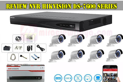 Review NVR Hikvision DS-7600 Series