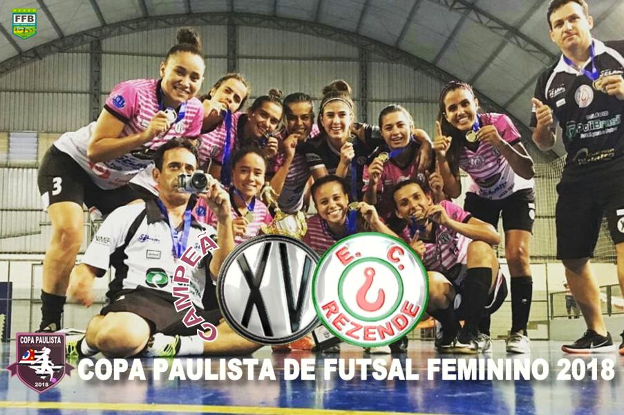 Na grande decisão da categoria Feminino Principal Livre envolvendo duas  gigantes do Futsal Feminino do Interior Paulista realizado na última quarta  feira ... 1537912c76e7f