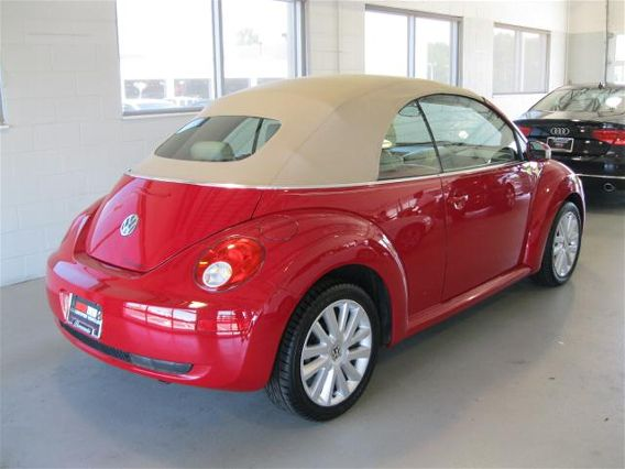 used 2008 beetle se convertible for sale by owner. Black Bedroom Furniture Sets. Home Design Ideas