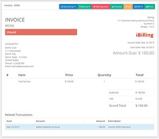 sistema billing codigo php facturacion