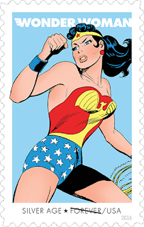 Sello Wonder Woman, Silver Age