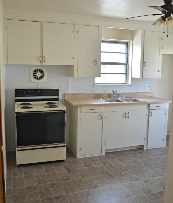 Renovated Apartment Kitchen