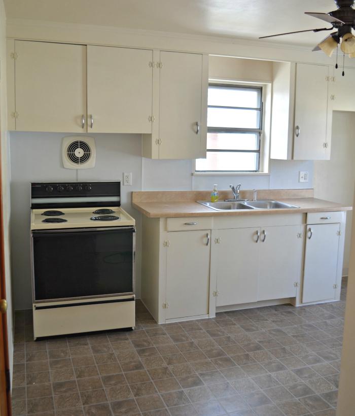 Renovated Apartment Kitchen