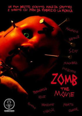 Zomb The Movie, locandina