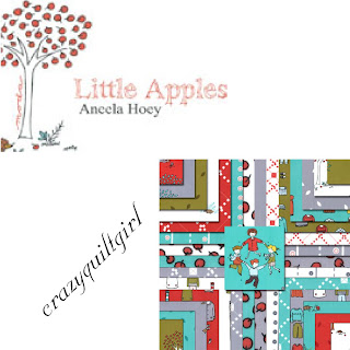 Moda LITTLE APPLES Quilt Fabric by Aneela Hoey