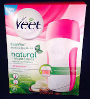 Veet Easy Wax Natural Inspirations Roll On Wax Kit