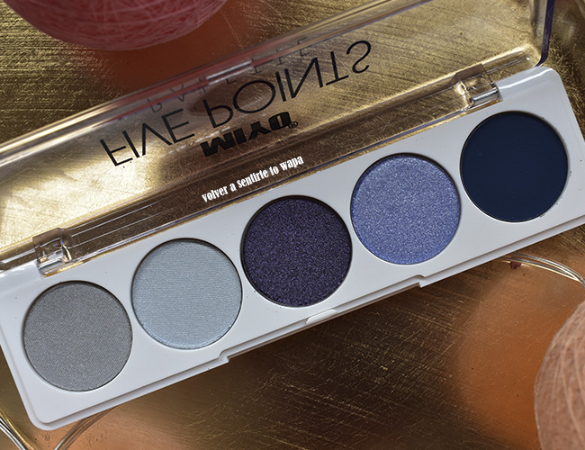 Paleta de Sombras de Ojos nº14 Killing my Softly de las Five Points de Miyo
