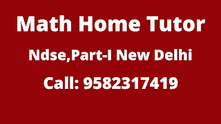 Best Maths Tutors for Home Tuition in NDSE Part-1, Delhi