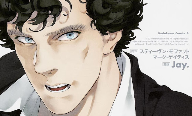 Sherlock manga dibujo