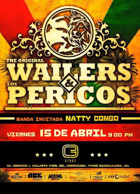 The original wailers & Pericos