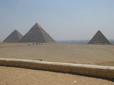 Great Pyramids of Giza align with Orion