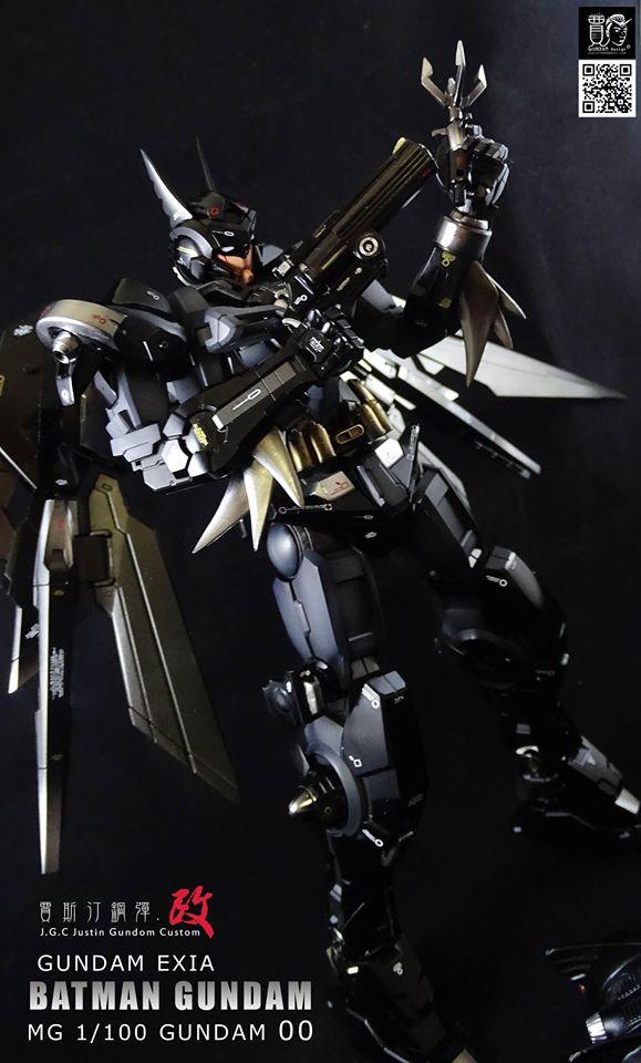 Custom Build: MG 1/100 Batman Gundam Exia