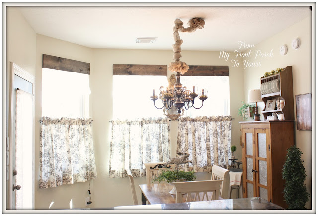 French Farmhouse kitchen-Kitchen Makeover-DIY Kitchen-French Country-Autumn Haze Glidden Paint-French Country Kitchen-From My Front Porch To Yours