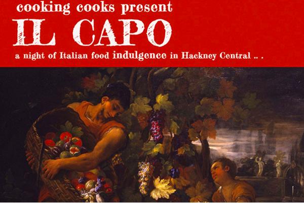 English To Italian Translator Google: London Pop-ups: The Cooking Cooks 'Il Capo' Night Of