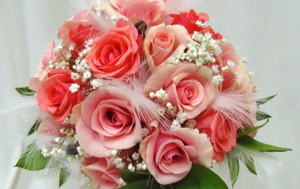 Alonglifepath: Make A Round Bridal Bouquet Of Fresh Flowers