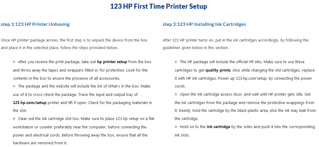 123 hp com | Wireless Printer Driver Download | Easy Install