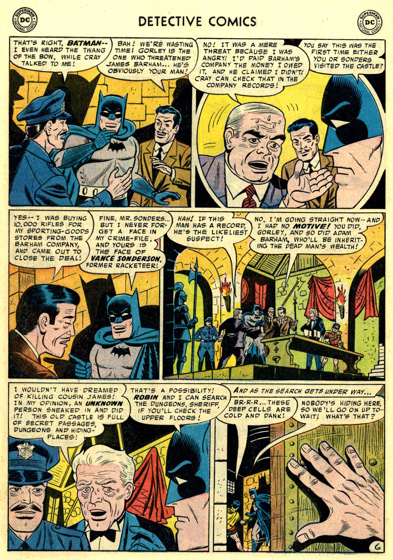 Read online Detective Comics (1937) comic -  Issue #246 - 8