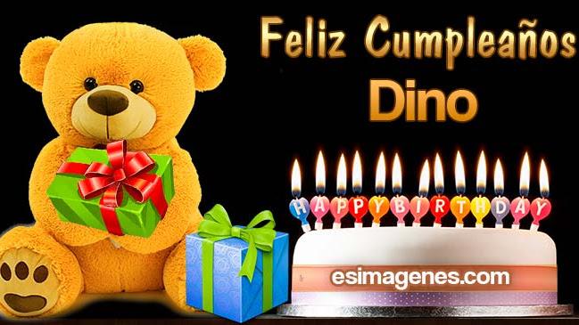 Feliz cumpleaños Dino