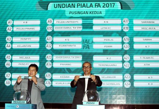 Jadual Perlawanan Piala FA Dan Keputusan Perlawanan 2017 Terkini