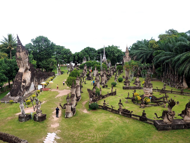 Buddha Park, outside Vientiane, Laos