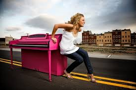 Moms are extra strong, one can move the piano all by herself!