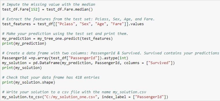 Case Study::Decision Trees & Random Forests::Machine