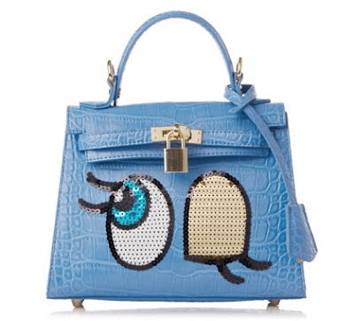 Winkygirl powder blue small tote bag, KRW 225,000 from PlayNoMore