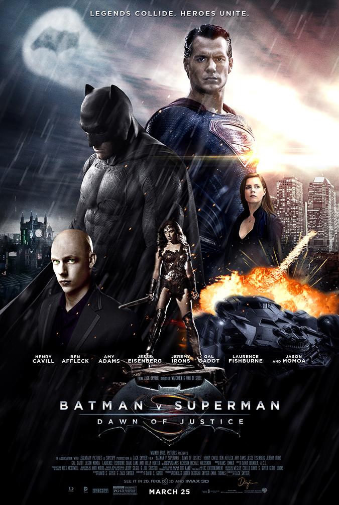 Batman Vs Superman Daw...