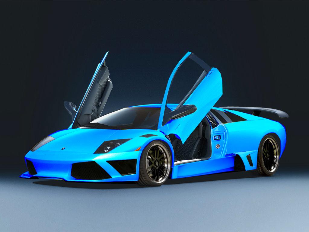 My Wallpaper Collection: Green and Blue Lamborghini Classics