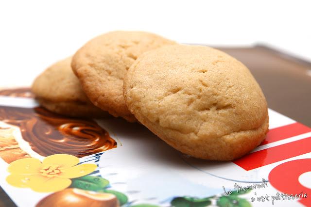 Cookies fourrés au nutella