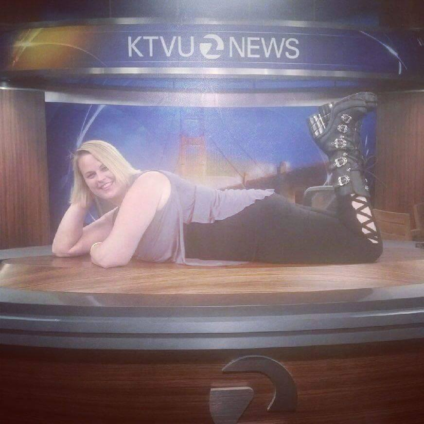 Confessions of a Twirly Girl: Chunky Girl Comics on KTVU!
