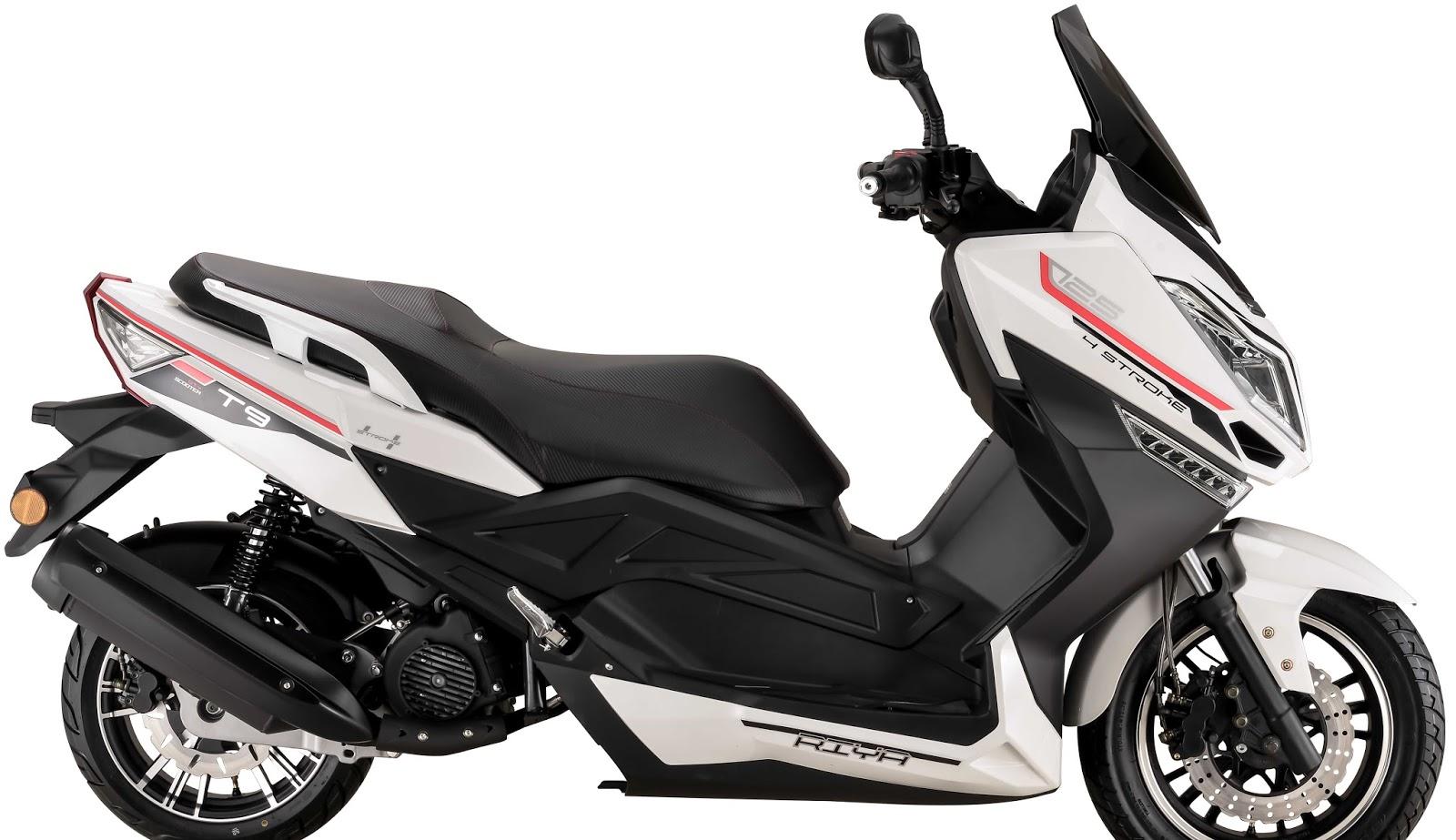 Llega a España la Riya T9, un scooter GT ligero, asequible y con ...