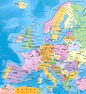 Geografiya Svremenna Politicheska Karta Na Sveta