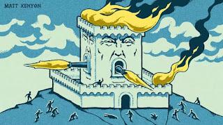 Donald Trump trong vòng vây ở Washington