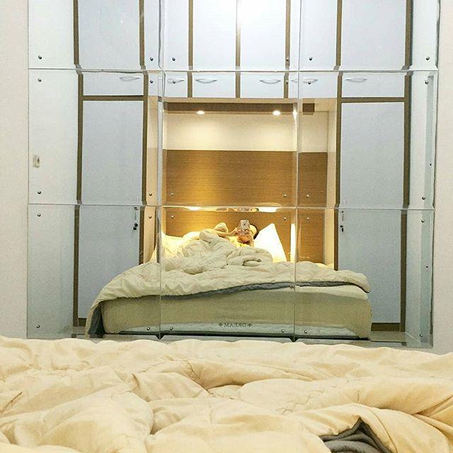 Interior Desain Kamar Tidur Minimalis Ukuran 3x4 Sederhana