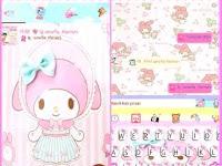 BBM Mod Tema Baby Melody APK Terbaru
