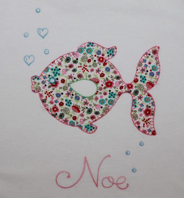 camisetas a juego para hermanas peces