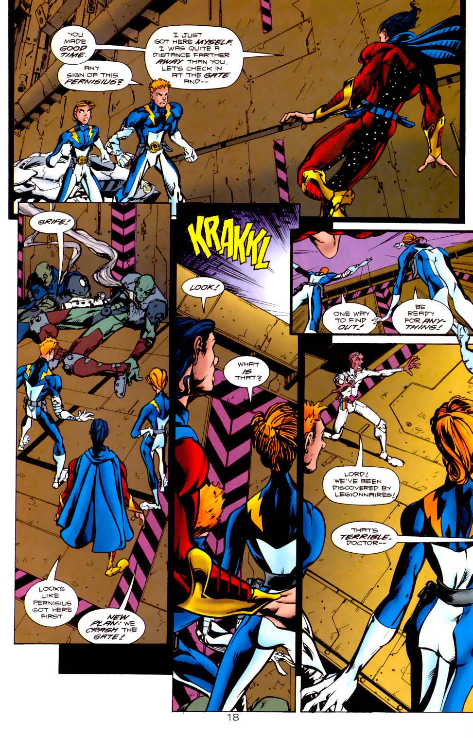 Legion of Super-Heroes (1989) 116 Page 18