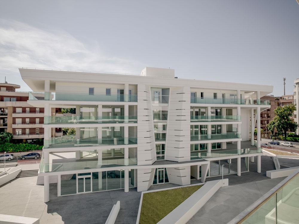 Laminam riveste l'involucro del nuovo complesso residenziale