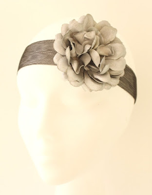 OI 1617 - Coleccion Plata Negro -  Banda Corona Tiara 1