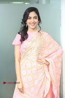 Actress Ritu Varma Pos in Beautiful Pink Anarkali Dress at at Keshava Movie Interview .COM 0051.JPG